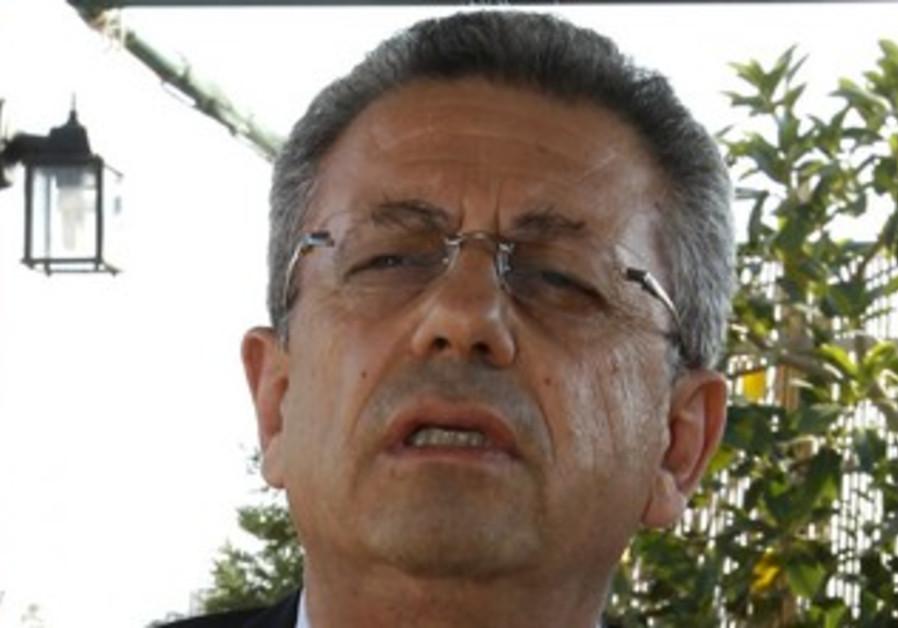 Palestinian activist Mustafa Barghouti.