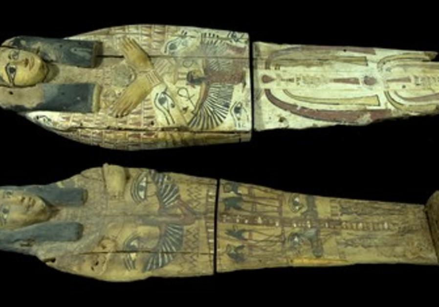 Egyptian Sarcophagi seized in Jerusalem