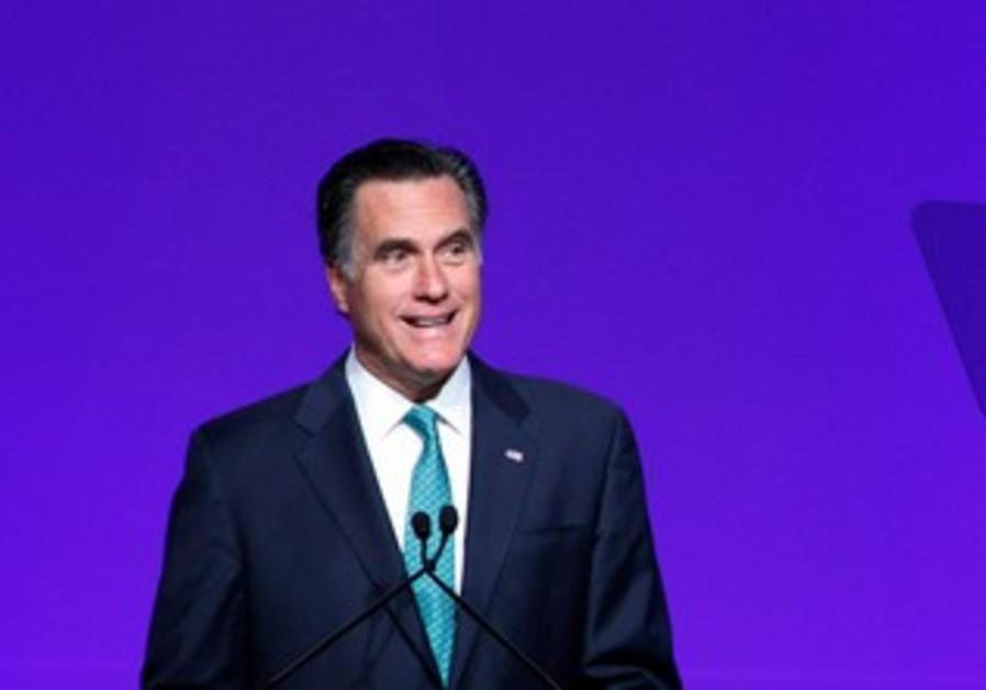 Mitt Romney at Newspaper Association of America
