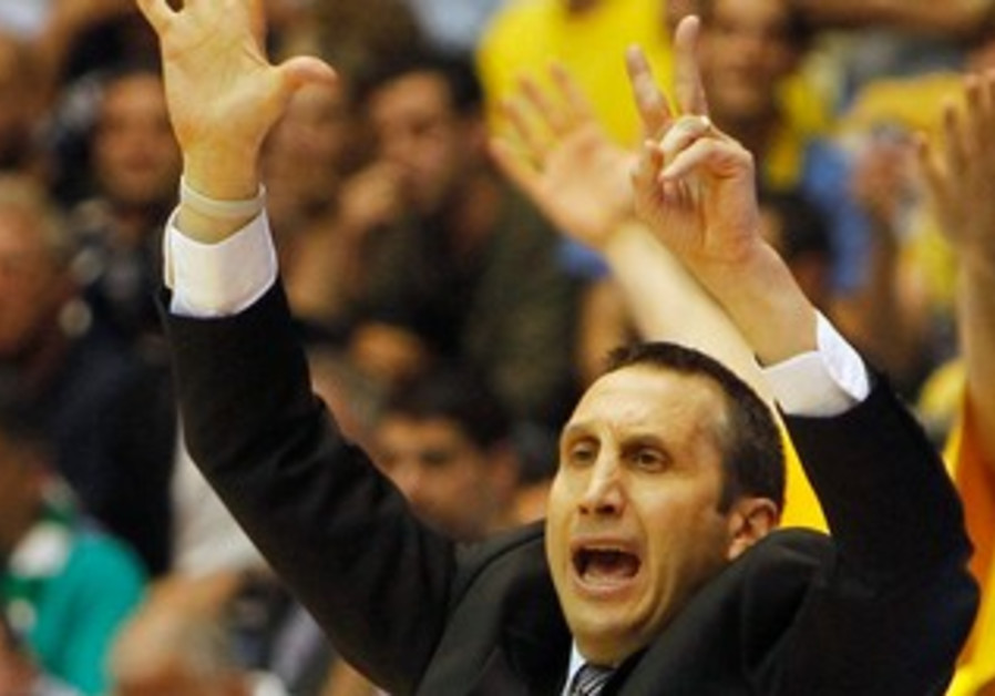 Maccabi Tel Aviv's David Blatt