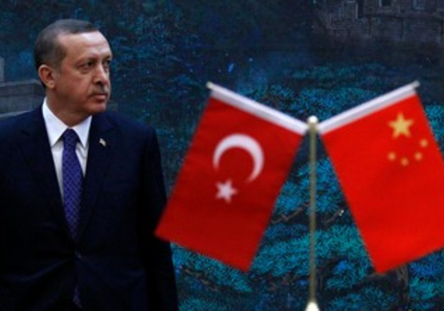Turkish PM Erdogan in Beijing