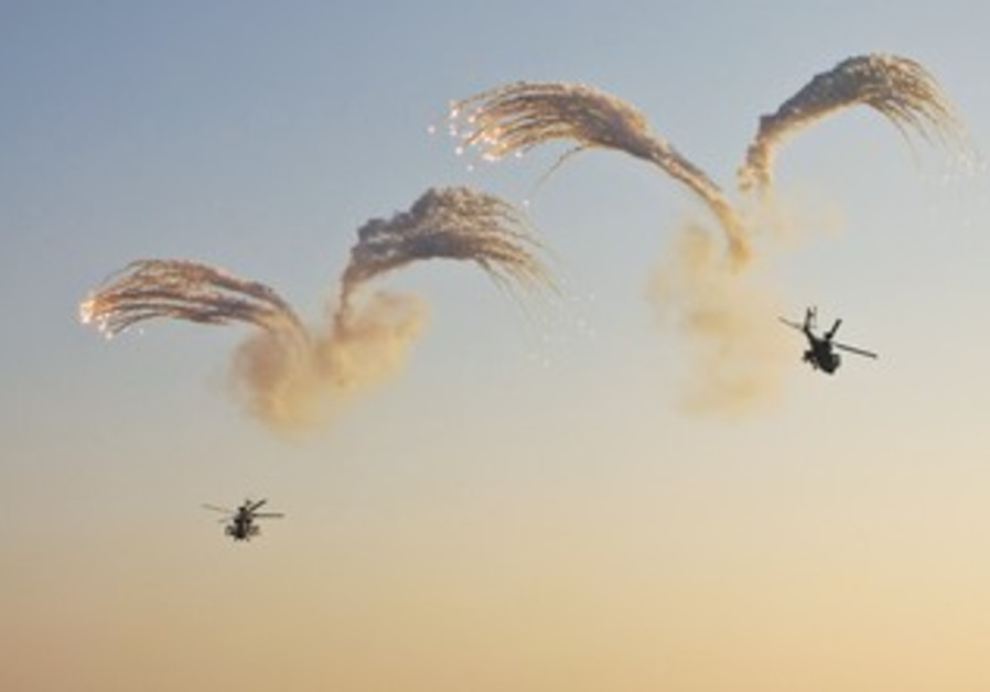 APACHE HELICOPTERS in the South