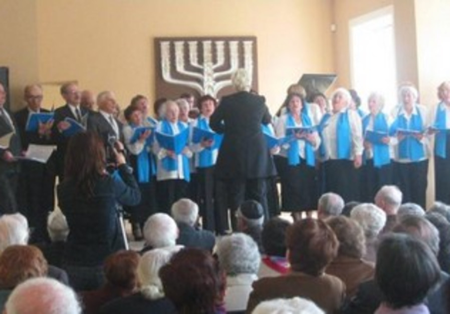 Israeli Independence Day Choir in Lithuania.