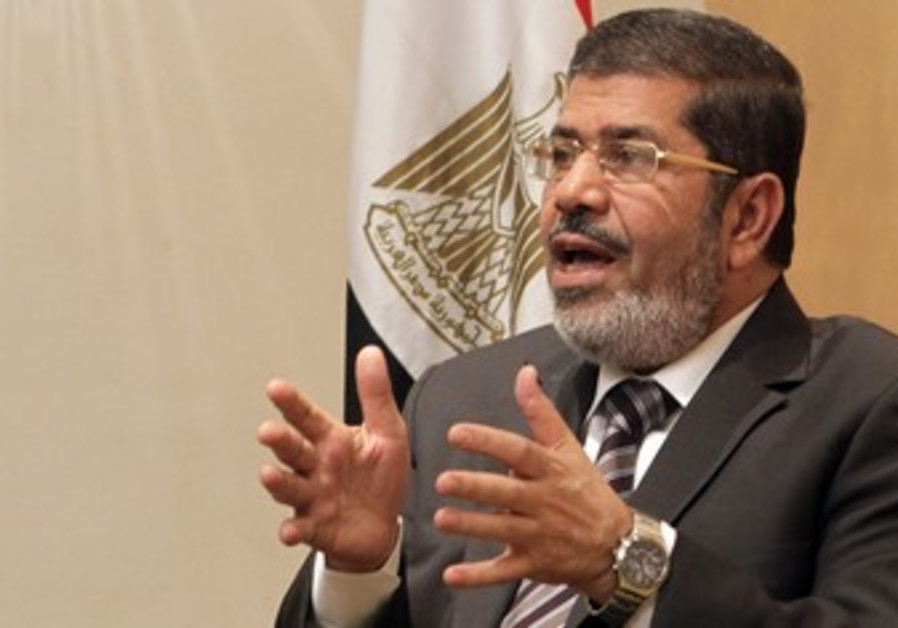 Mursi, head of  Brotherhood's political party