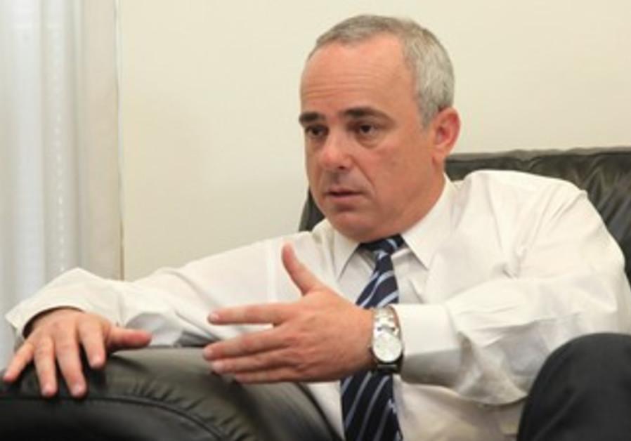Steinitz in interview with Jerusalem Post
