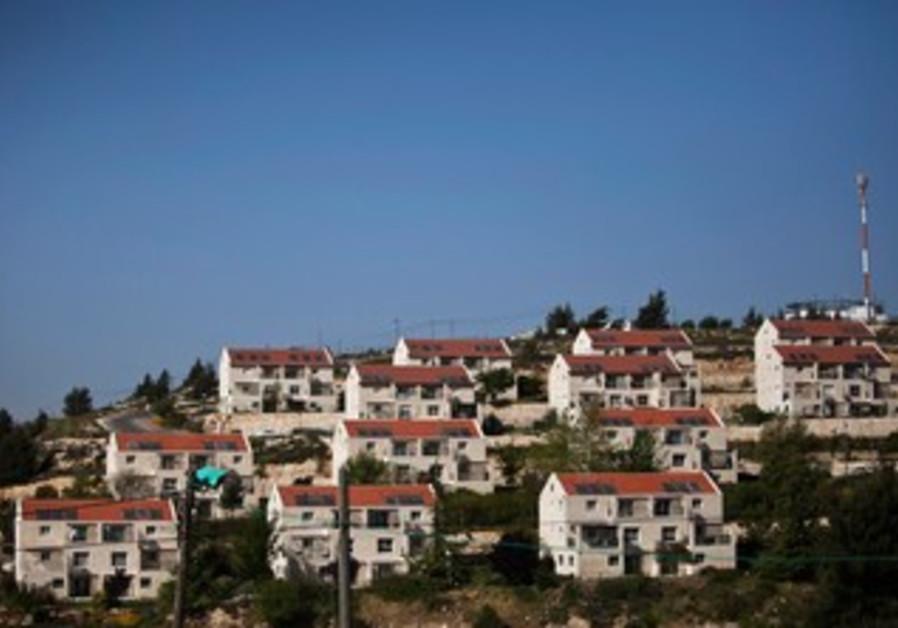Ulpana outpost near Beit El