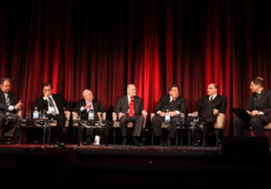 Panel on diaspora at Jerusalem Post Conference