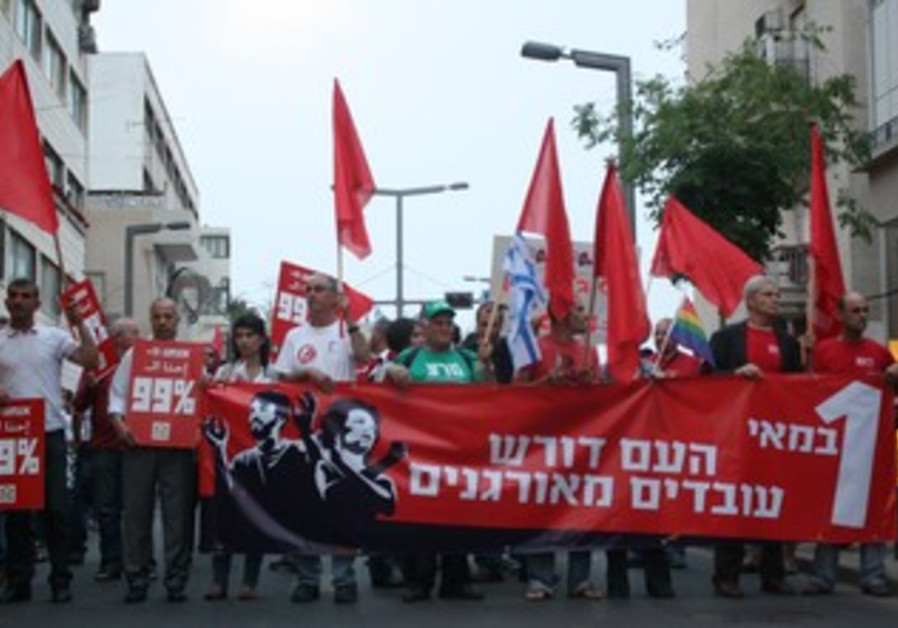 Tel Aviv May Day march