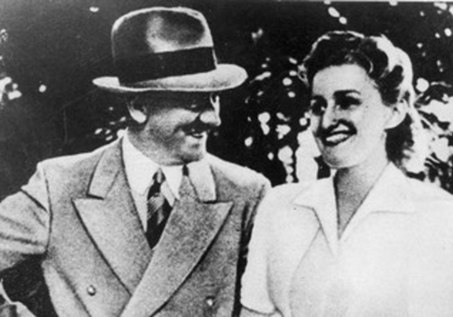 Eva Braun with Adolf Hitler