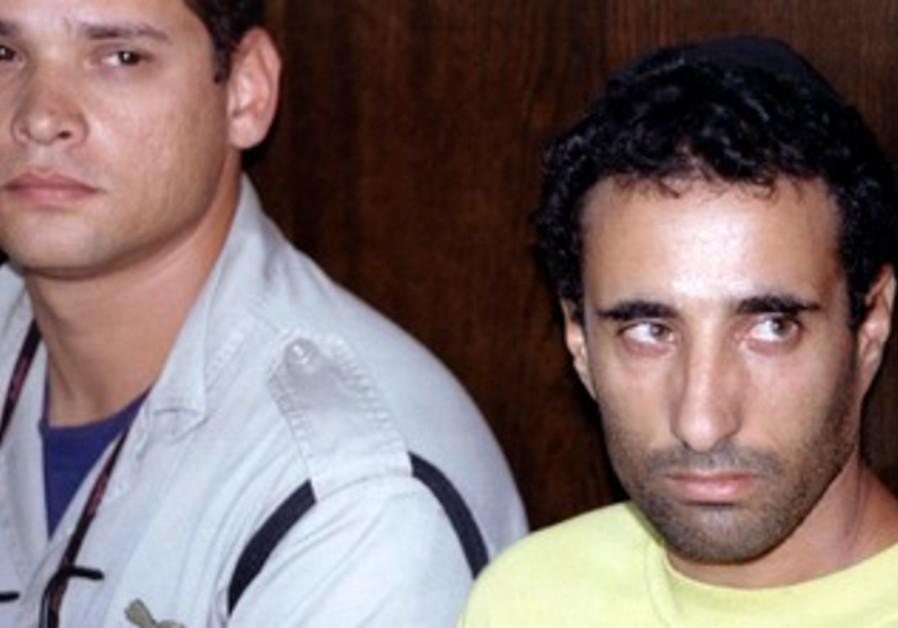 Hagai Amir in court in 1995