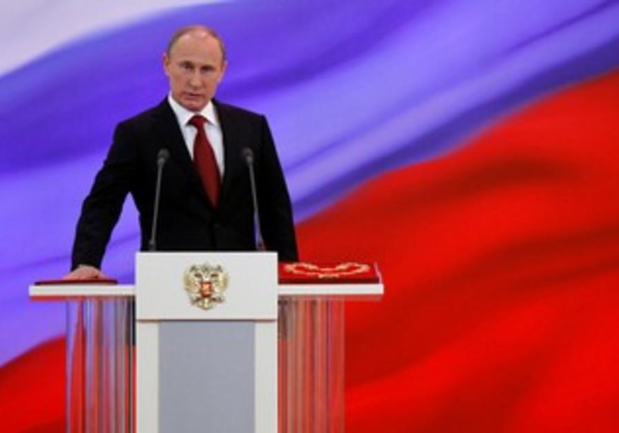 Vladimir Putin sworn in as Russia's president.