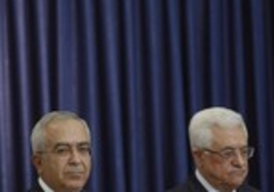 PA President Abbas and PM Fayyad [file]