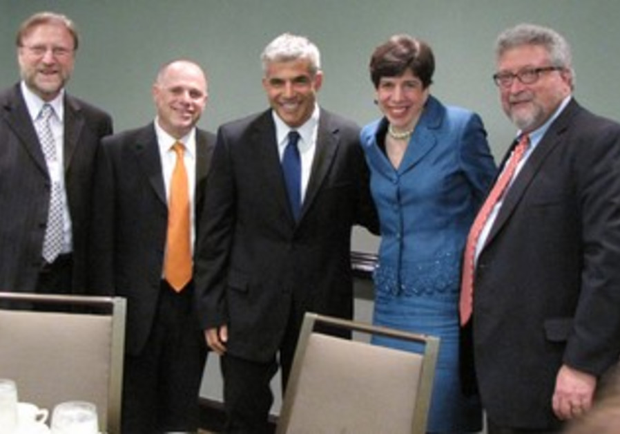 Yair Lapid with assembly leadership