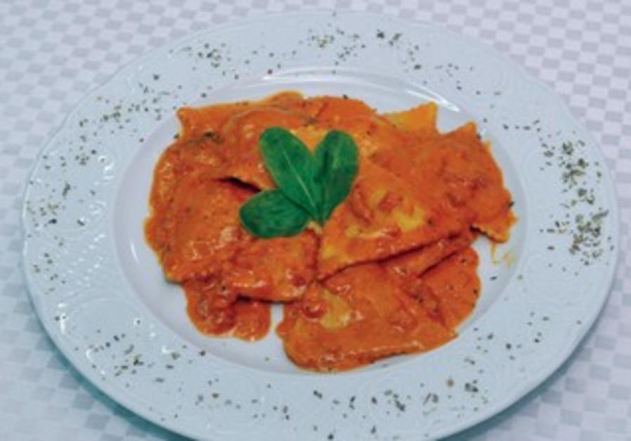 Ravioli dish