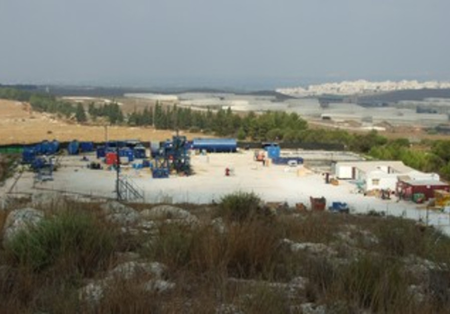 Meged oil drilling