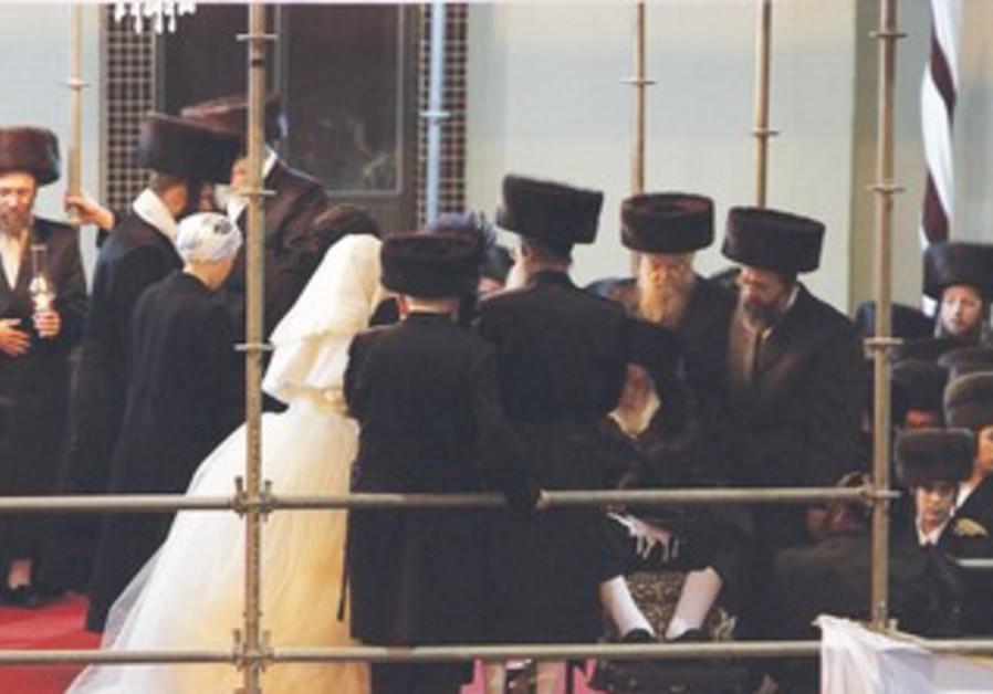 Haredi wedding in Bnei Brak