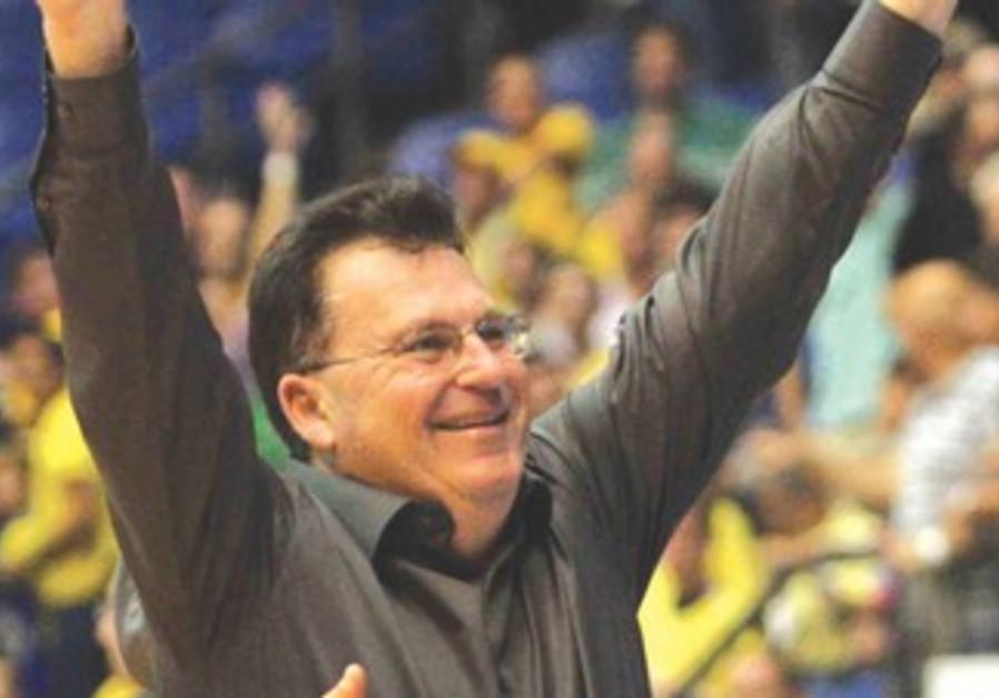 Maccabi Ashdod coach Ofer Berkowitz