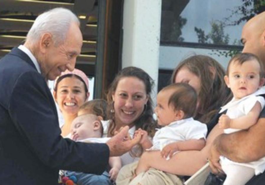 President Peres at Megilot Regional Council