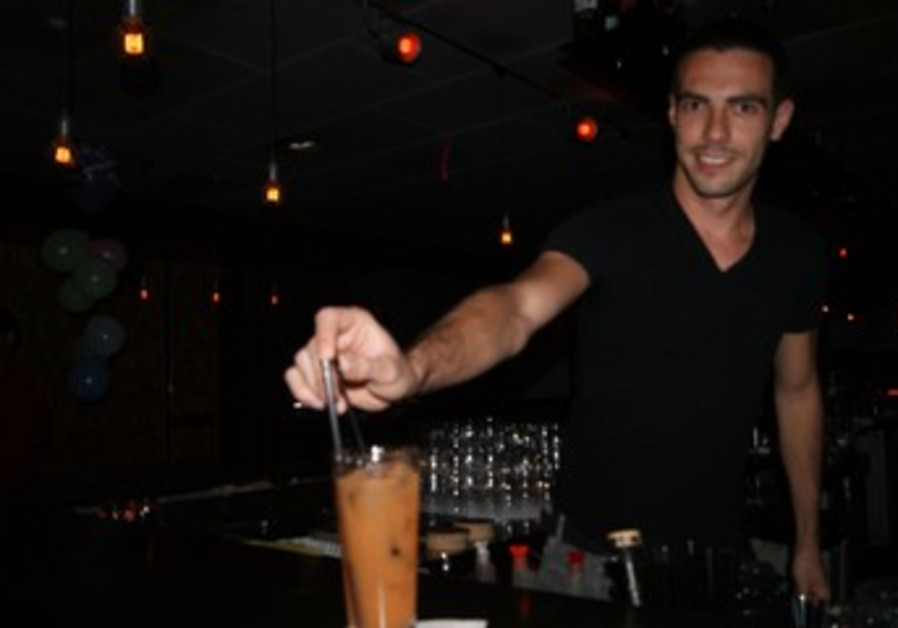 Barman at Evita