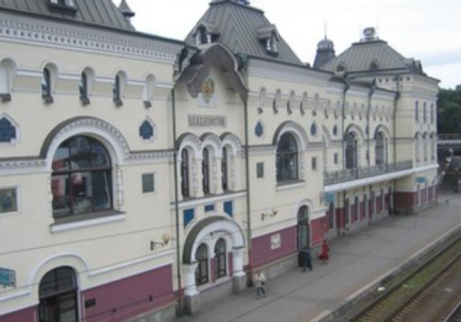 THE VLADIVOSTOK train station