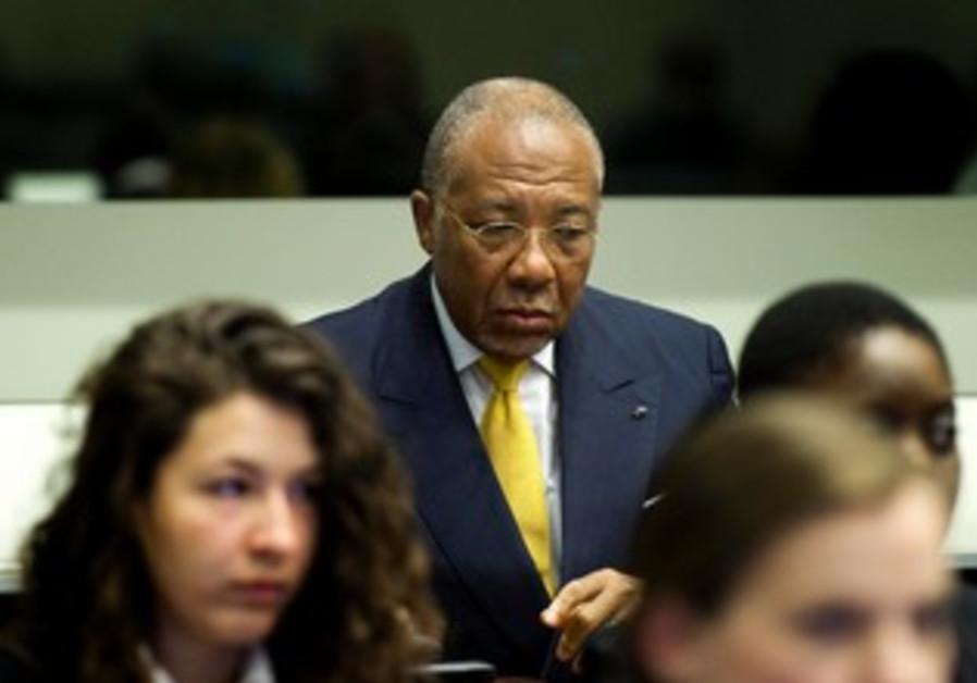 Foremr Liberian leader Charles Taylor