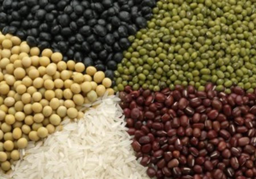 Variety of grains (illustrative)