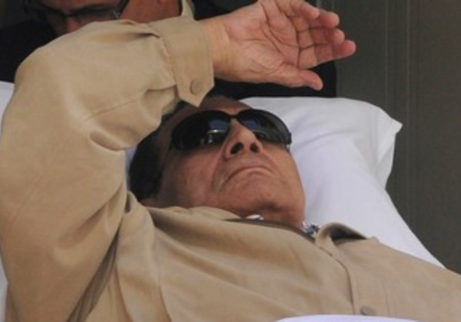 Mubarak is wheeled out of courtroom