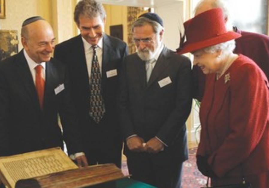 Queen Elizabeth, Rabbi Sacks