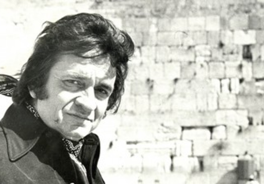 Johnny Cash at the Western Wall