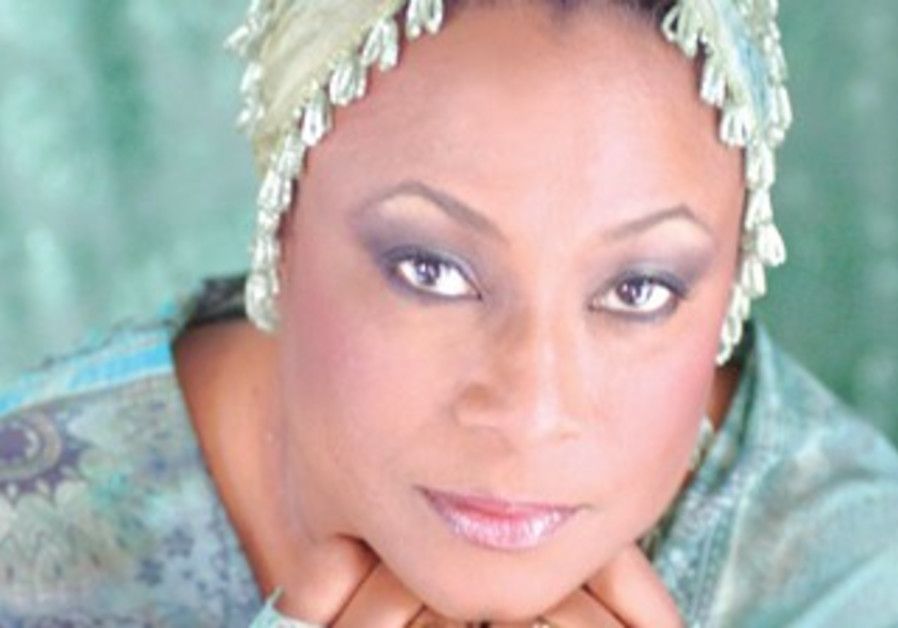 TINKLING THE IVORIES: American pianist Geri Allen