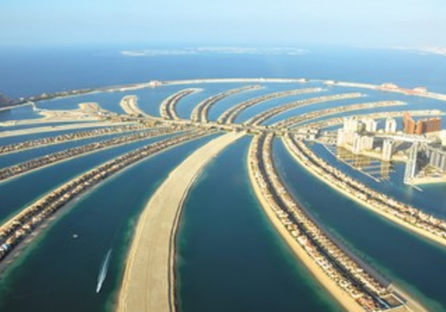 Artificial islands in Dubai
