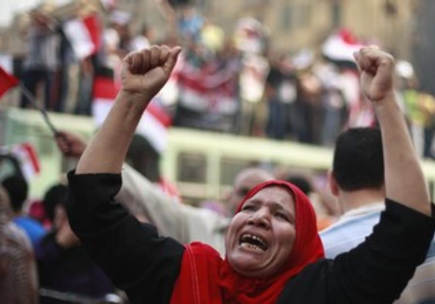Morsy supporters celebrate self-declared vote win