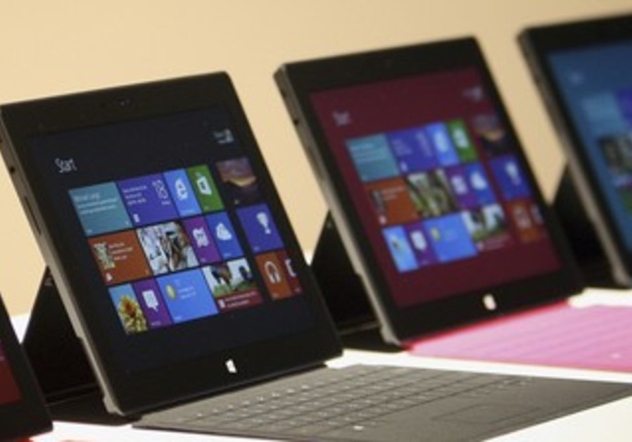 "New Microsoft ""Surface"" tablet 370"