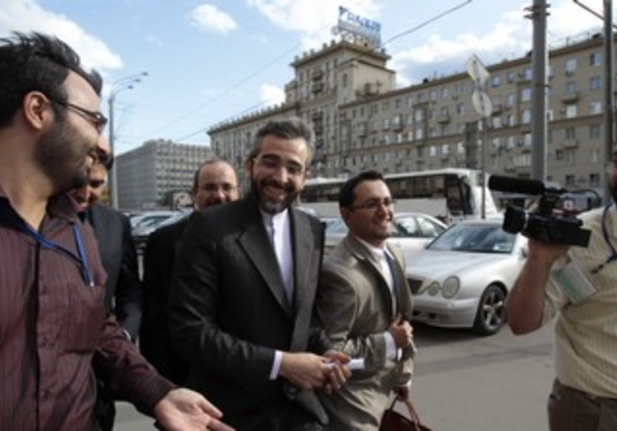 Iranian nuclear negotiator Ali Bagheri in Moscow