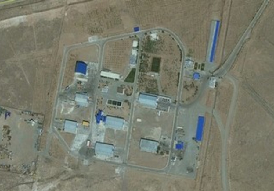Satellite photos show Iran 'sanitizing' Parchin