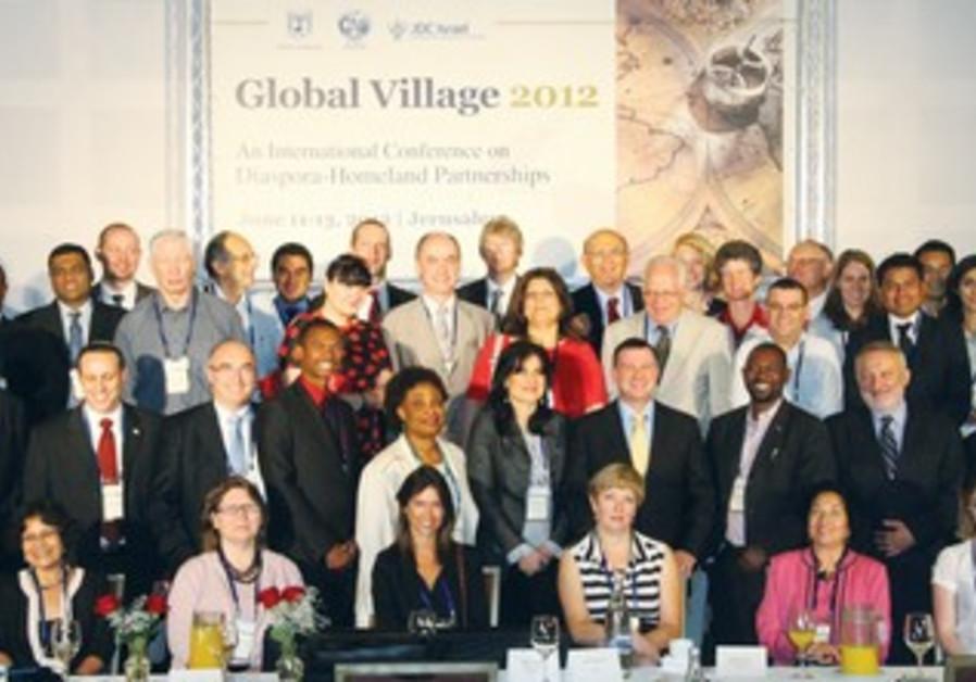 Global Village 2012 conference in Jerusalem