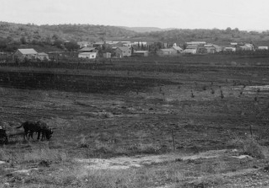 Kfar Chassidim in 1935