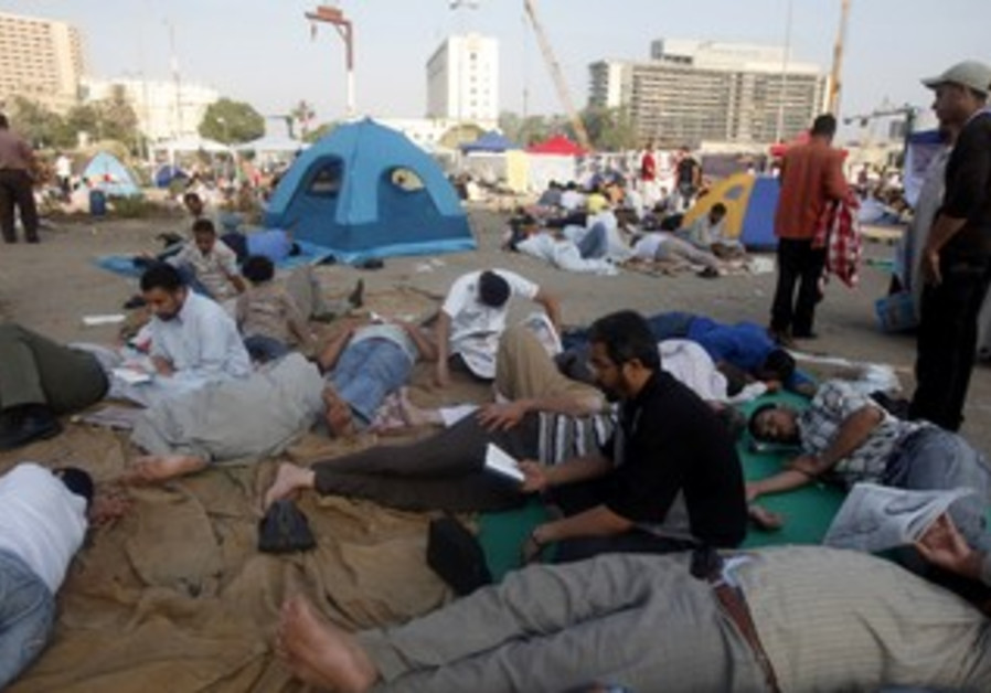 Egyptians stage sit-in in Tahrir Square