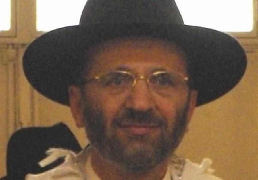 French Chief Rabbi Gilles Bernheim