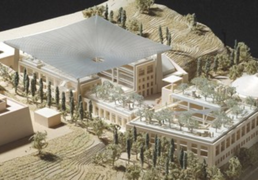 National Archeology Quarter model