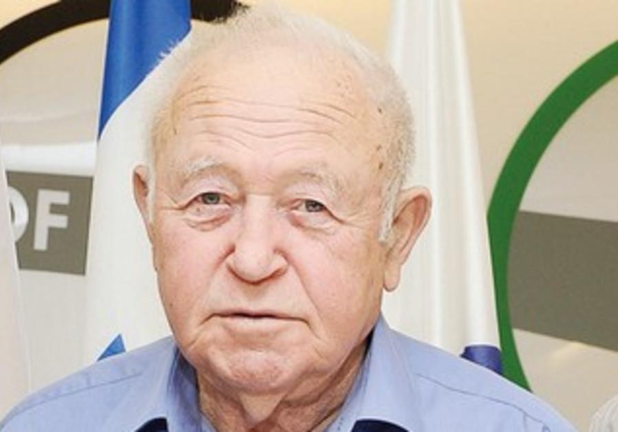 OLYMPIC COMMITTEE president Zvi Varshaviak