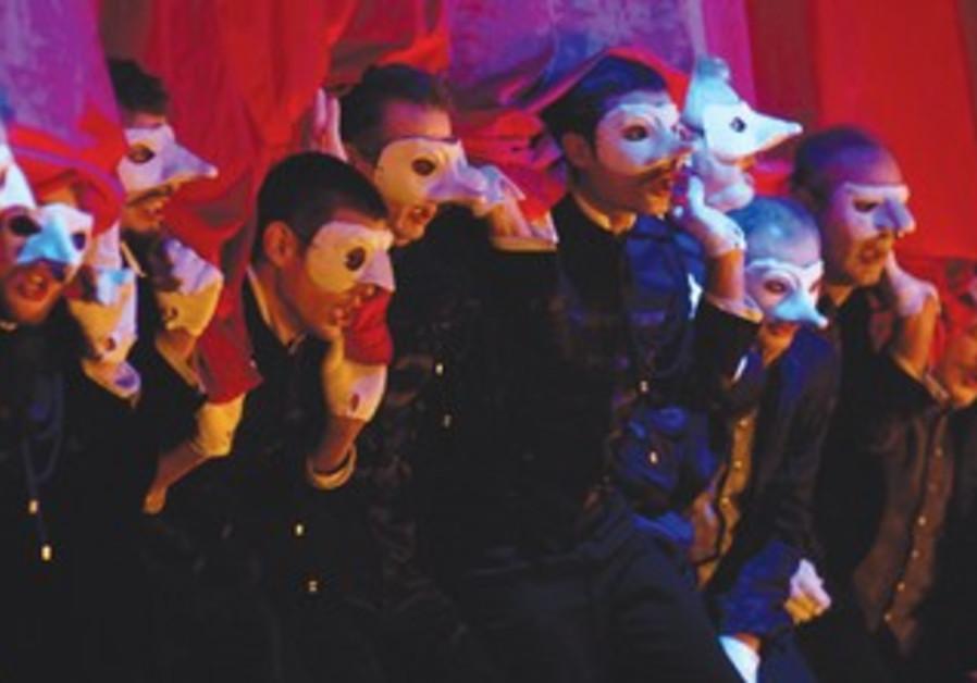 A scene from 'Rigoletto'
