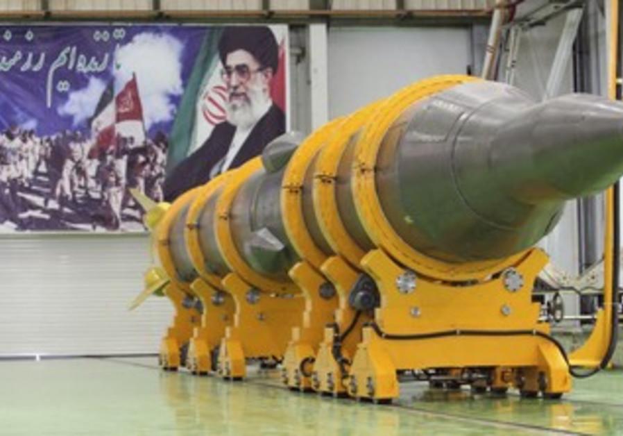 Iran's Sajil 2 missile