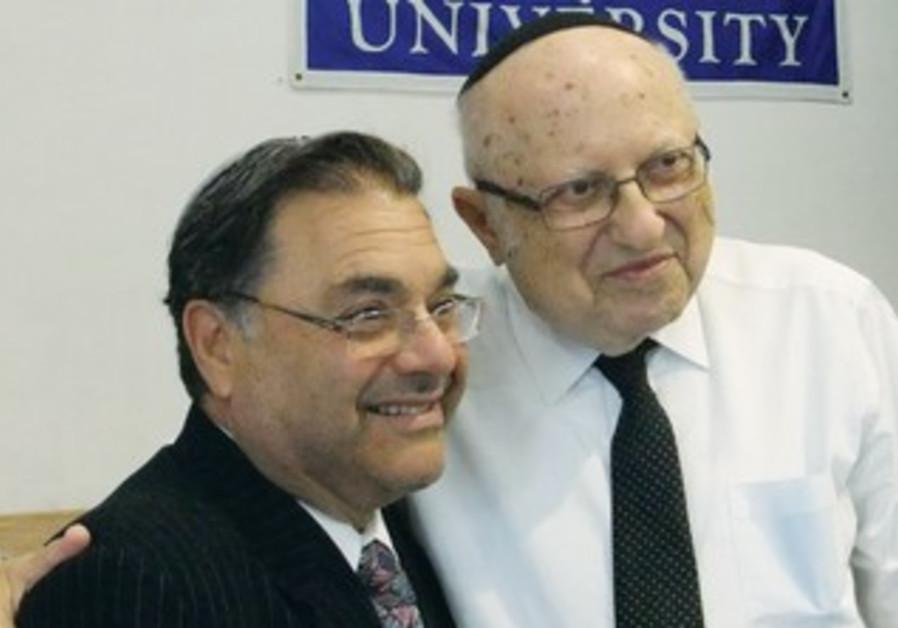 RABBI AVRAHAM Zuroff, Rabbi Shlomo Riskin