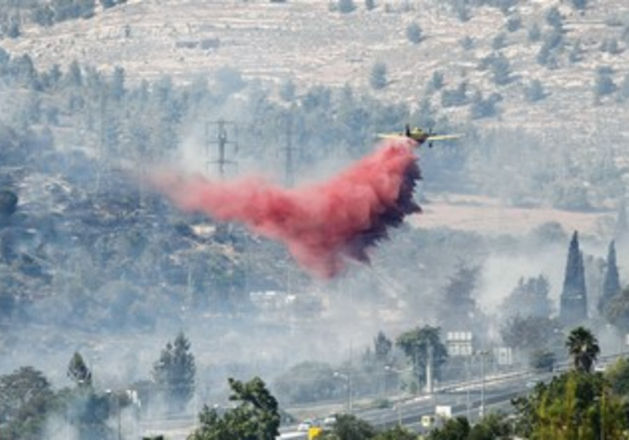Israeli Fire and Rescue Service plane
