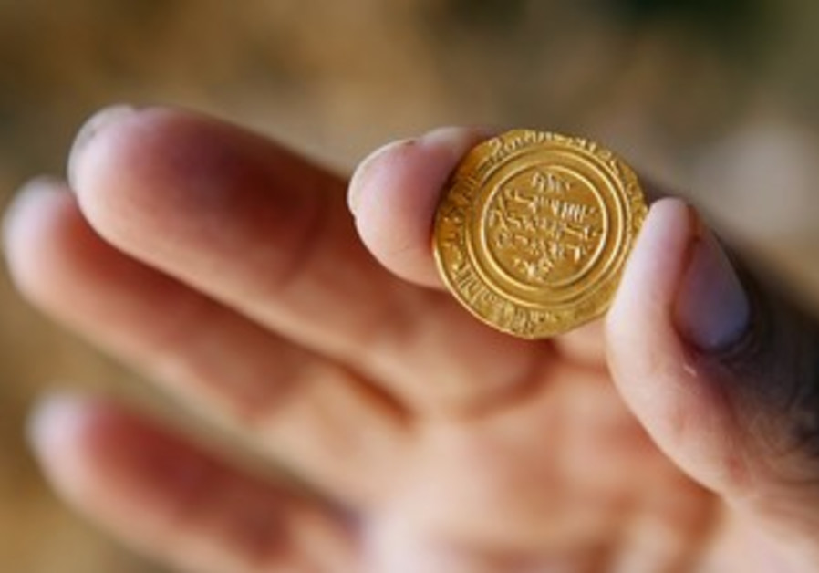 Gold coin discovered in Apollonia
