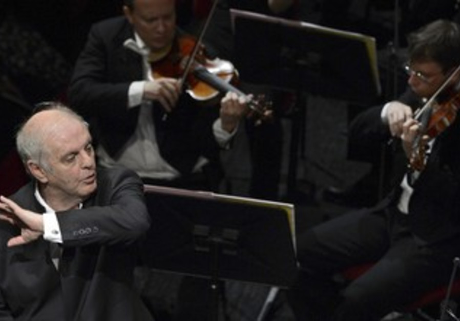 Conductor Daniel Barenboim