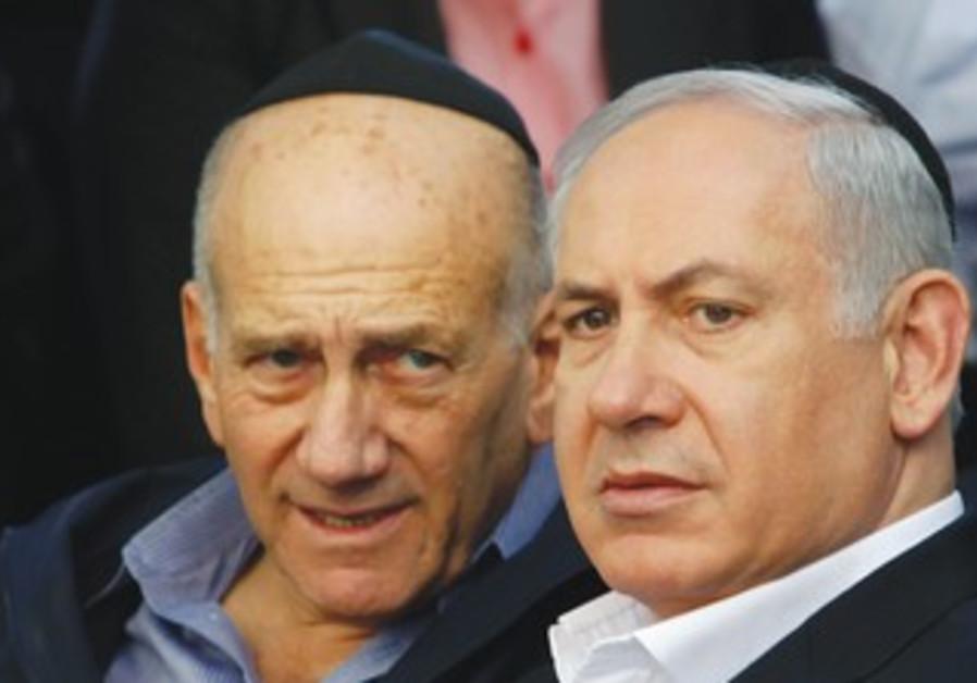 Olmert, Netanyahu