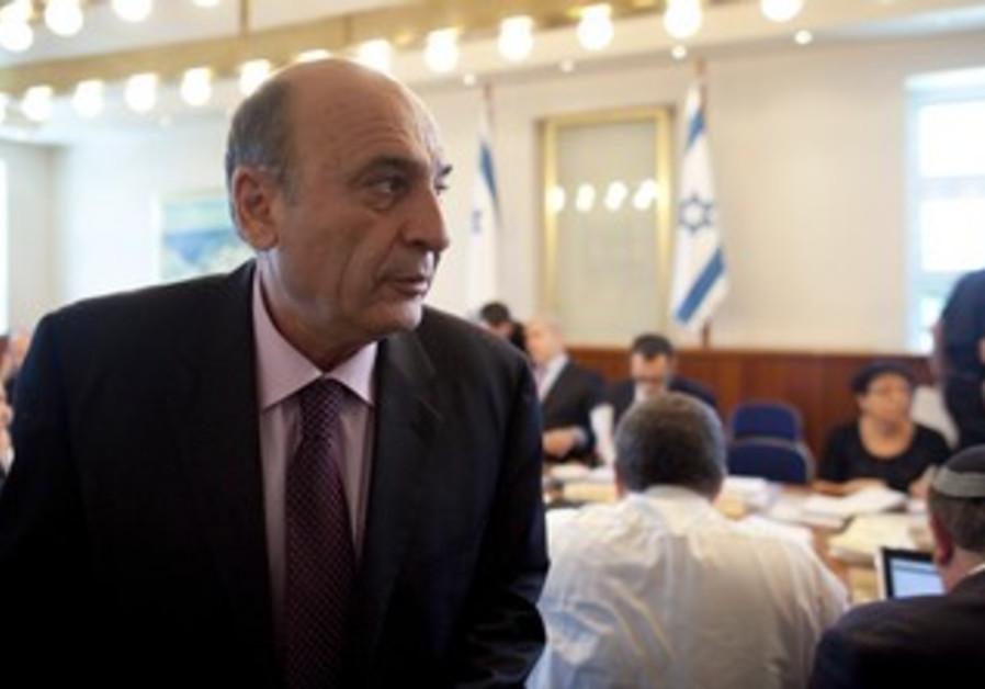 Kadima leader Shaul Mofaz [file photo]