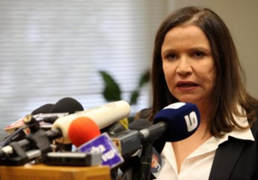 Labor leader Shelly Yechimovich
